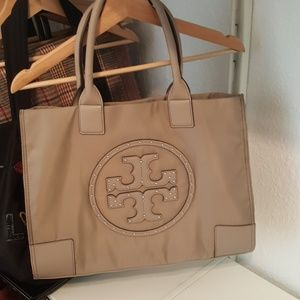 Tory burch studded Ella tote